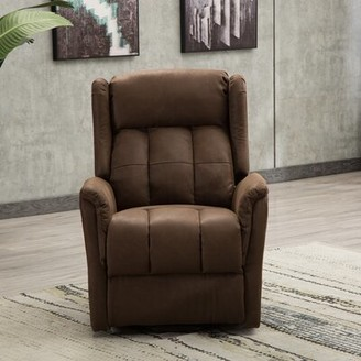 Latitude Run Dequindre Power Lift Assist Recliner with Massage and Heating
