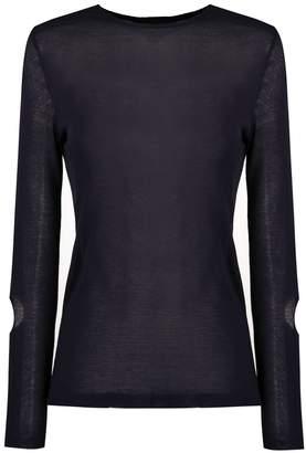 Gloria Coelho long sleeved knit blouse