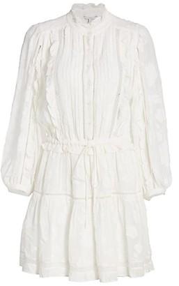 Joie Adel Blouson Peasant Dress