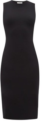 The Row Devi Scuba Dress - Black