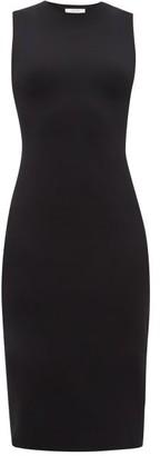 The Row Devi Scuba Dress - Womens - Black
