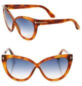 Tom Ford Arabella 59MM Cat's-Eye Sunglasses