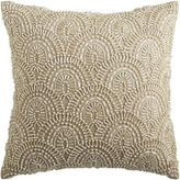 Pier 1 Imports Romantic Glam Beaded Scallop Pillow