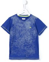 Armani Junior scribble print T-shirt