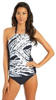 Athena Moon Glow High Neck Halter Tankini Top
