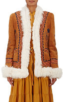 Ulla Johnson Women's Delia Reversible Shearling Jacket