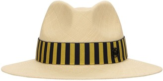 Maison Michel Rico Stripes Straw Hat