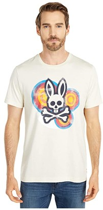 Psycho Bunny Abbott Tee Shirt (White Asparagus) Men's Clothing