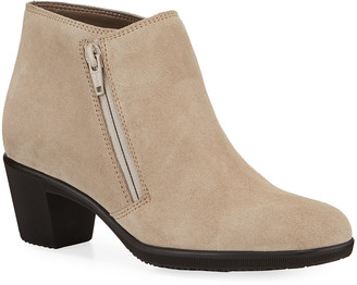 Sesto Meucci Pallas Water-Resistant Ankle Booties, Taupe