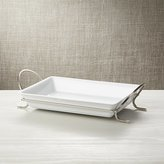 Crate & Barrel Cambridge Baking Dish with Rack