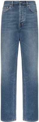 Totême Ease high-waisted straight-leg jeans