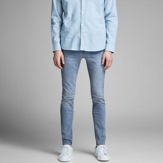 Jack and Jones Jjiliam Jjoriginal Stretch Skinny Jeans