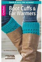 Leisure Arts Boot Cuffs and Ear Warmers Book