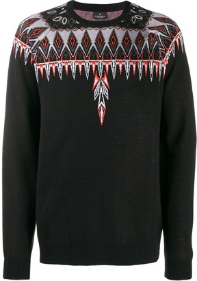 Marcelo Burlon County of Milan Norwegian Wings intarsia jumper