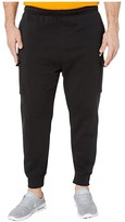 Nike Big Tall NSW Club Pants Cargo (Black/Black/White) Men's Casual Pants