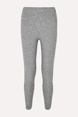 Joseph Melange Wool Track Pants