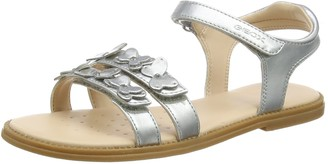 Geox Girl's J Karly I Open Toe Sandals