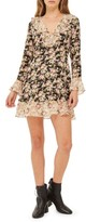 Topshop Women's True Romance Ruffle Minidress