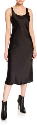 SABLYN Charlie Silk Slip Midi Dress