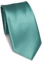 Saks Fifth Avenue COLLECTION Grid Patterned Tie