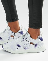 Reebok Furylite Sneakers In Botanical Floral Print