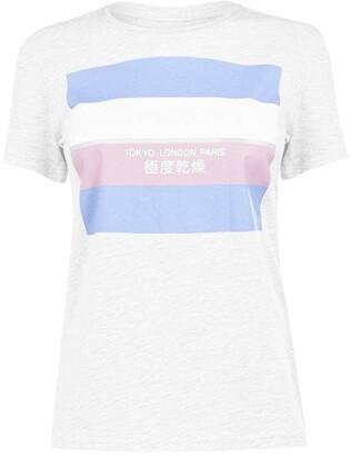 Superdry Stripe Block T Shirt