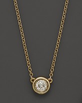Bloomingdale's Diamond Solitaire Pendant Necklace in 14K Yellow Gold, .25 ct. t.w.