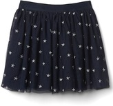 Gap Shimmer star flippy skirt