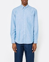 Gitman Brothers Iridescent Chambray LS Button Down