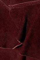 Isabel Marant Elea stretch-suede mini skirt