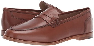 J.Crew Ryan Penny Loafers in Leather (Burnished Pecan) Women's Shoes