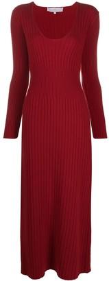 Ami Amalia Diana merino wool dress