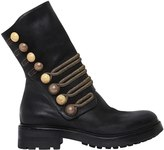 Strategia 30mm Military Leather Boots