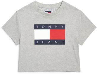 Tommy Hilfiger Junior Flag Logo T-Shirt