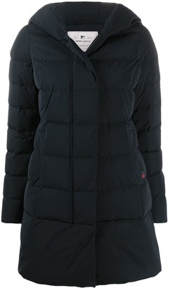 Woolrich Hooded Down-Padded Coat
