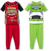 Cars Pixar Toddler Boys' 4-Piece Pajama Set - Multi