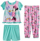 Disney's Minnie Mouse & Daisy Duck Toddler Girl 3-pc. Pajama Set
