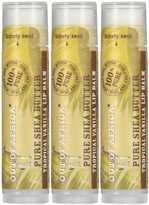 Out of Africa Shea Butter Lip Balm - Vanilla - 0.45 oz - 3 pk