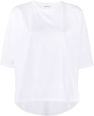 Enfold Smooth Loose boxy T-shirt