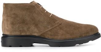 Hogan classic lace-up boots