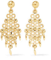 Prada Gold-tone Earrings