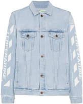Off-White Bleach Denim Jacket
