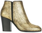 Giuseppe Zanotti Design almond toe ankle boots - women - Leather - 37.5