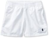 Ralph Lauren White Chino Shorts - Toddler & Boys