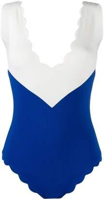 Marysia Swim chevron one-piece swimsuit