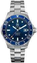 Tag Heuer Men's Aquaracer 500m Calibre 5 Stainless Steel Dial Watch WAN2111.BA0822