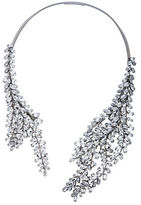 BCBGMAXAZRIA Asymmetric Stone Collar Necklace