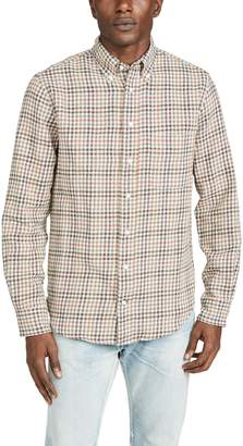 Gitman Brothers Cotton Gingham Button Down Shirt