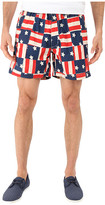 Vintage 1946 Americana Patch Pull-On Shorts