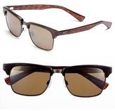 Maui Jim Men's 'Kawika - Polarizedplus2' 54Mm Sunglasses - Black Gloss/ Pewter